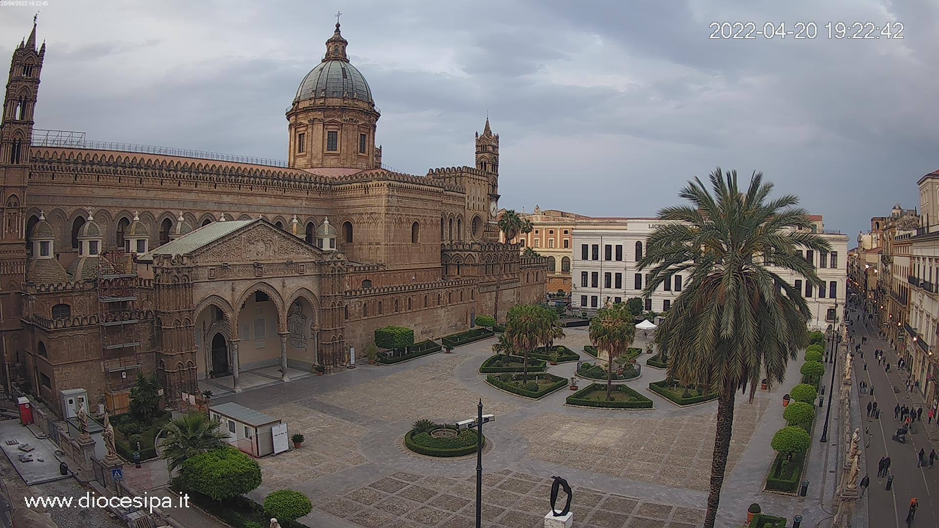 palermo-cattedrale-webcam